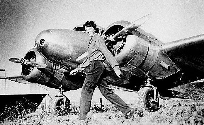 Загадка исчезновения Амелии Эрхарт. Что произошло 11 июля? 11 июля 1897 года (по старому стилю) родилась Амелия Эрхарт – первая женщина-пилот, перелетевшая Атлантический океан.