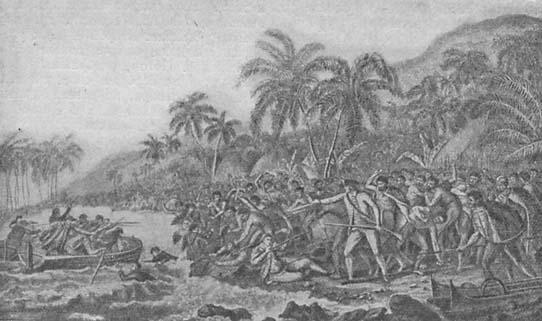 А был ли съеден Кук? Что произошло 12 июля? 12 июля 1776 года капитан Джеймс Кук отбыл из Плимута в свою последнюю экспедицию.