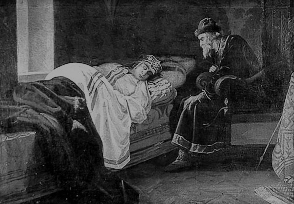 Что произошло 3 июля? 3 июля 1853 года царь Иван Грозный  убил любимого старшего сына Ивана.