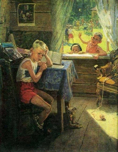 Переэкзаменовка. 1954 год