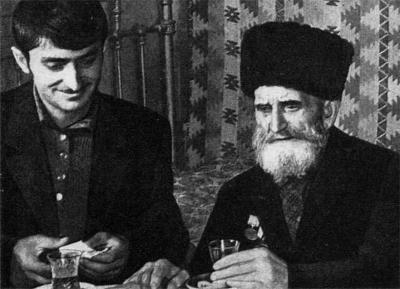 Ширали Муслимов с прапраправнуком
