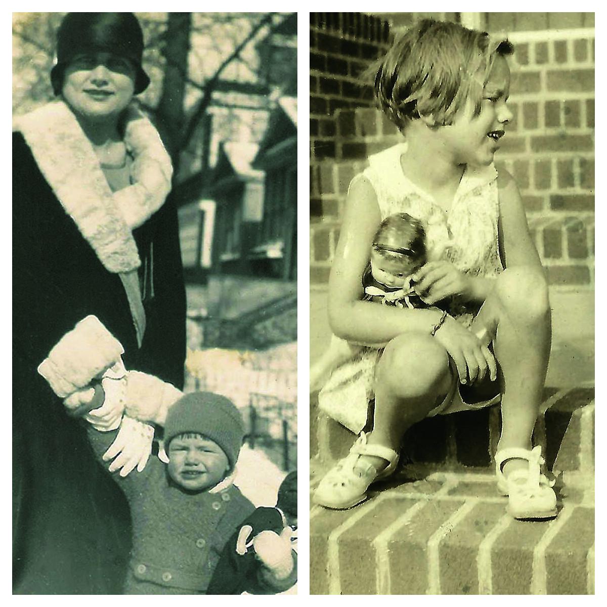 Элли Джонс в детстве