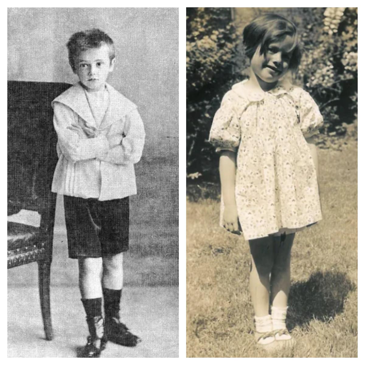 В. Маяковский в детстве. Дочь Маяковского Патрисия в детстве