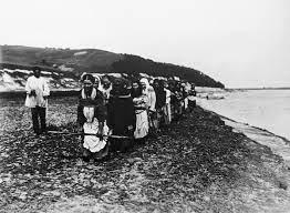 Женщины-бурлачки. Какие женщины шли в бурлаки добровольно и кто из них становился «шишкой»